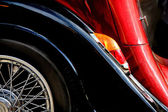Fragment of an old car — Stock Photo