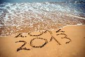 Yeni yıl 2012 önümüzdeki kavramdır — Stok fotoğraf