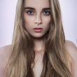 Natural beauty woman portrait — Stockfoto