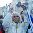 Opossition demonstration in Prague, Czech Republic — Stock Photo