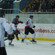 Hockey game in Donetsk, Ukraine between Donbass and MHC — Stock Photo