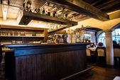 Bar in the restaurant — Stock Photo