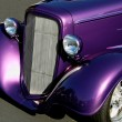 Purple Classic Hotrod — Stock Photo