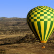 Balloon Accross Desert — Stock Photo #18871589