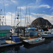 Fishing Boats in Morro Bay Harbor — Stock Photo