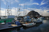 Fishing Boats in Morro Bay Harbor — Stock Photo