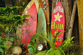 Welcome Display On The Road To Hana, Hawaii — Stock Photo