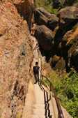 Pinnacles National Park Bear Gulch Trail — Stock Photo