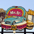 berömda Mr d'z route 66 diner i kingman arizona — Stockfoto #47969245