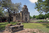 Mission Espada in the San Juan Mission National Park, Texas — Stock Photo