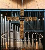 Iglesia en gentofte — Foto de Stock