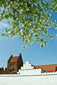 Dennmark kilisesi — Stok fotoğraf