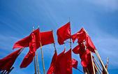 Red flags — Stock Photo