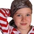 Girl  in a bandana - Stock Photo