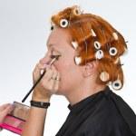 Make up artist at work — Stock Photo #24872083