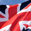 UK flags — Stock Photo