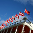 Danish flag — Stock Photo #26329615