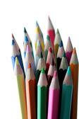 Wood crayon — Stock Photo
