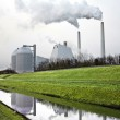 Modern District heating plant in Denmark — Stock Photo
