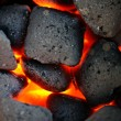 Stock Photo: Incandescent coal