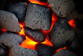 Incandescent coal — Stock Photo