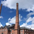 Old heat and power plant in Denmark — Stock Photo
