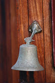 Bell on a boat Island of Fanoe in Denmark — Stock Photo