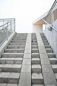 Trap in beton — Stockfoto
