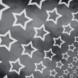Grunge stars background — ストック写真