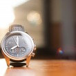Luxury Watch on the Table — Stock Photo