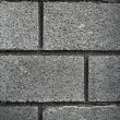 Grunge Grey Brick Wall Background — Stock Photo