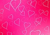 Valentinstag-abstrakt — Stockfoto