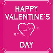 Happy Valentine's Day — Vettoriale Stock