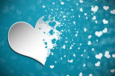 Valentine's Day Abstract Background — Stock Photo