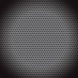 Abstract dotted black metal background — Stock Vector