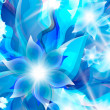 Abstract blue background for  floral elements — Stock Vector #45715445