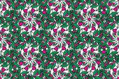 Smidig konsistens med abstrakt blommor — Stockvektor