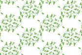 绿色的树叶无缝背景 — 图库矢量图片