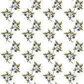 手绘图花卉背景 — 图库矢量图片