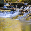 Brandywine Small Falls Emptying Into Pool Landscape — Stock Photo