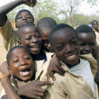 Schoolboys in Burkina Faso — Stock Photo