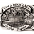 Buckle of Alaska belt — Stock Photo