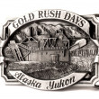 Buckle of Alaska belt — Stok fotoğraf