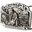 Buckle of Alaska belt — 图库照片