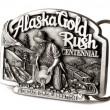 Buckle of Alaska belt — Stock Photo