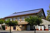 Solar roof — Stock Photo