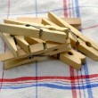 Stock Photo: Clothes pegs