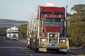 Road transport in Australia — Stock Photo