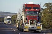 Road transport in Australia — Stock Photo
