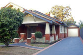 Home in a residential district of Melbourne — Stock Photo